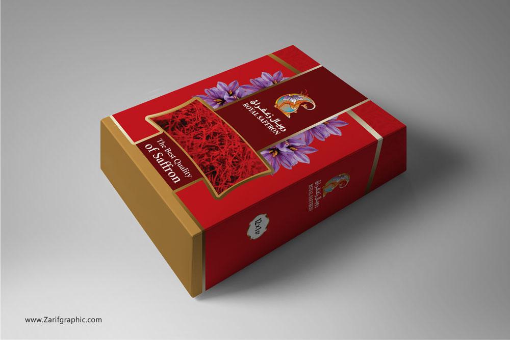 طراح-فاخر-بسته-بندی-زعفران-عمان