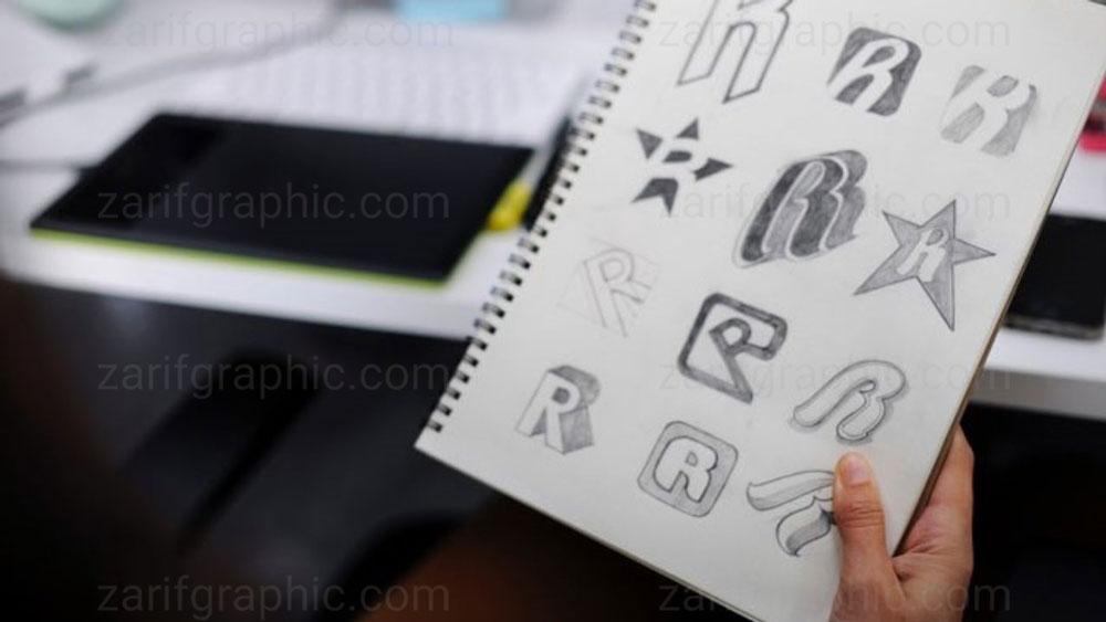 طراحی لوگو مشاغل اینترنتی در مشهد با ظریف گرافیک