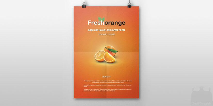 طراحی پوستر خلاقانه