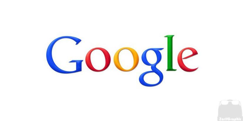 طراحی لوگو گوگل