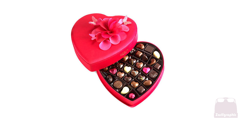طراحی بسته بندی زعفران شکلات مواد غذایی ادویه