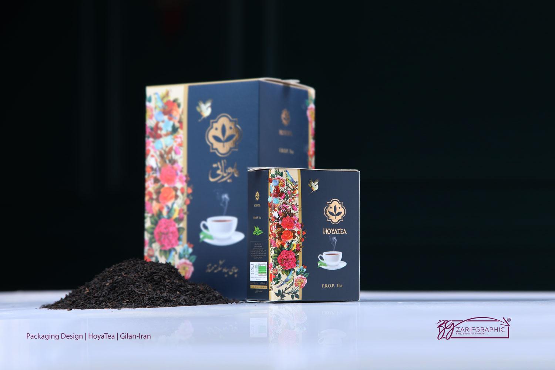 طراحی و عکاسی تبلیغاتی چای هویاتی