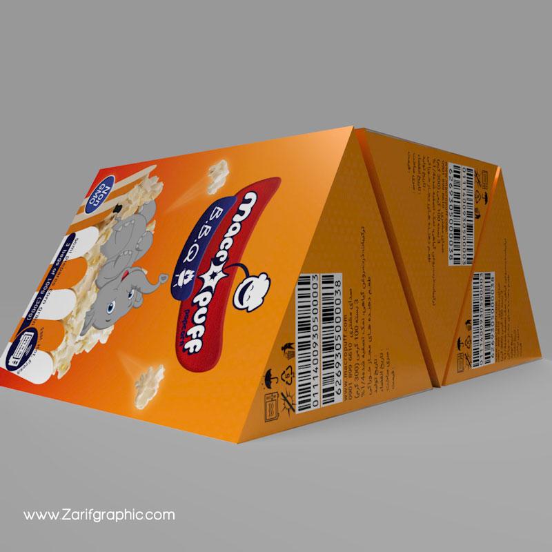 ایده خلاقانه برای کارتن مواد غذایی