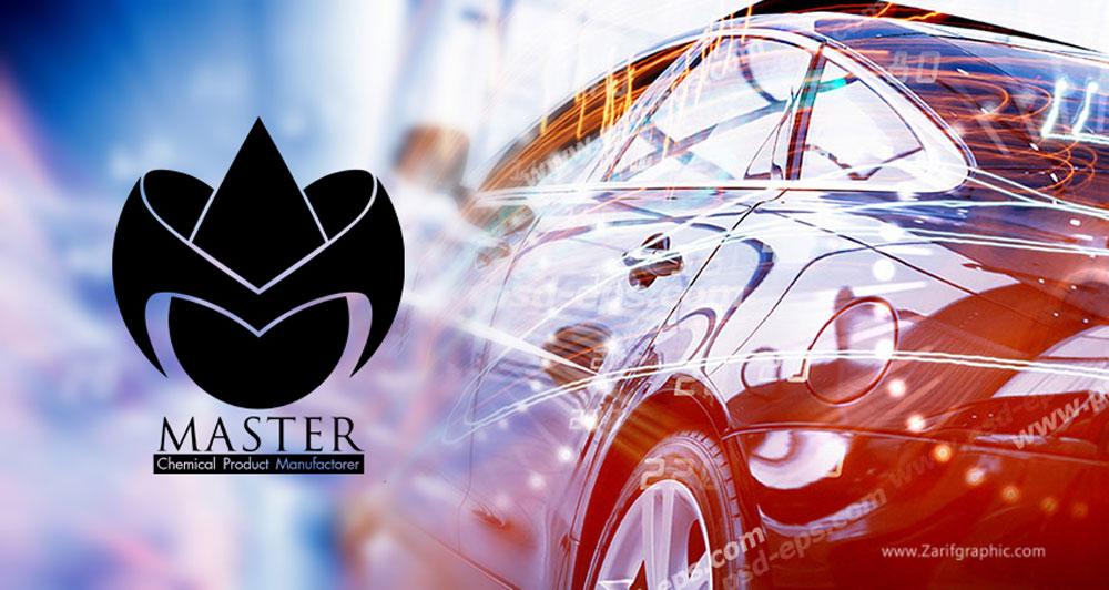 طراحی لوگو حرفه ای صنایع شیمیایی و روغن ترمز در ظریف گرافیک
