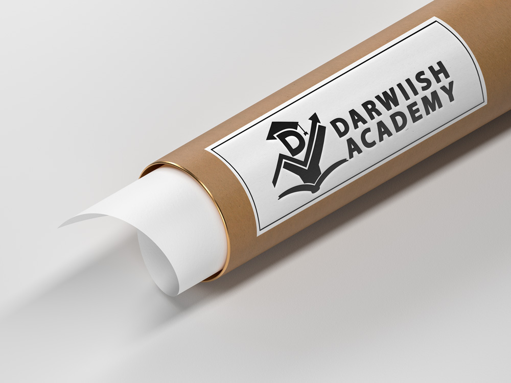 Logo design of the Somali Darwish Academy