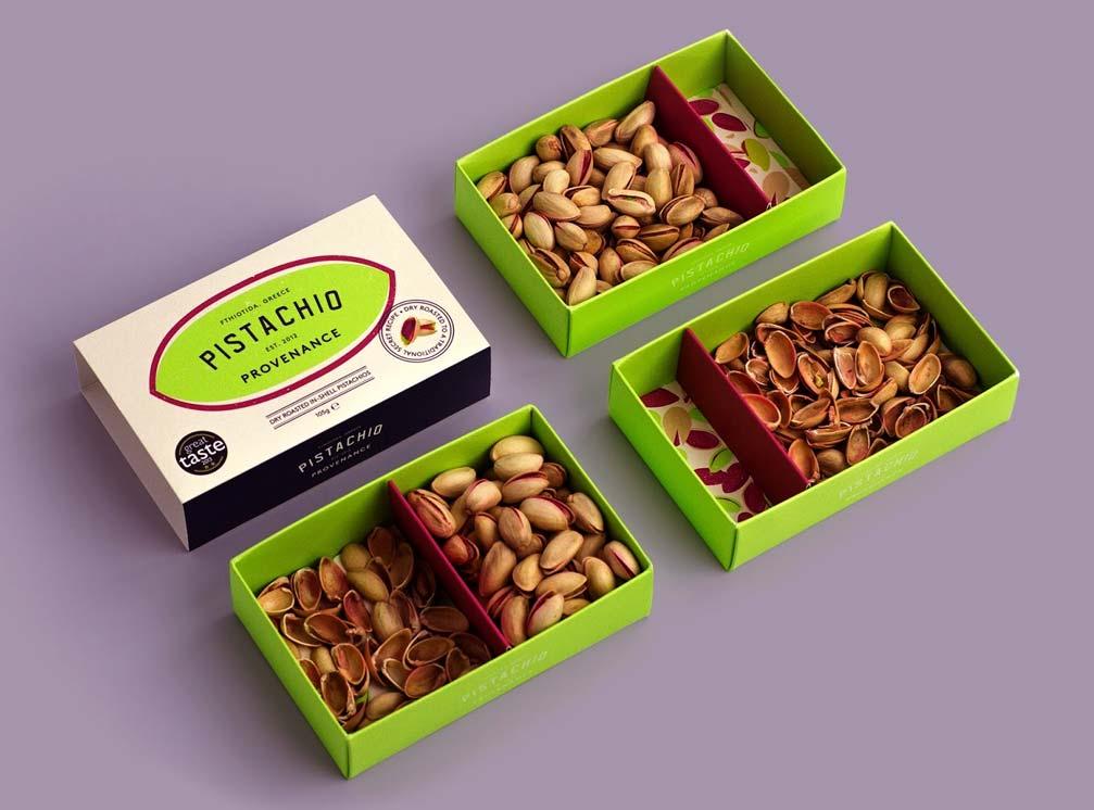 جعبه بسته بندی خلاق آجیل و خشکبار