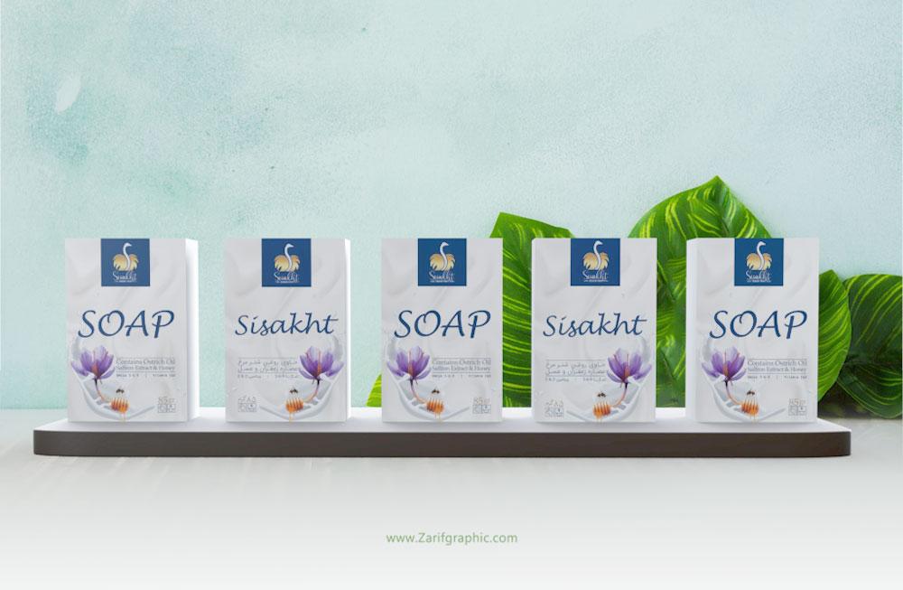 طراحی شیک بسته بندی صابون