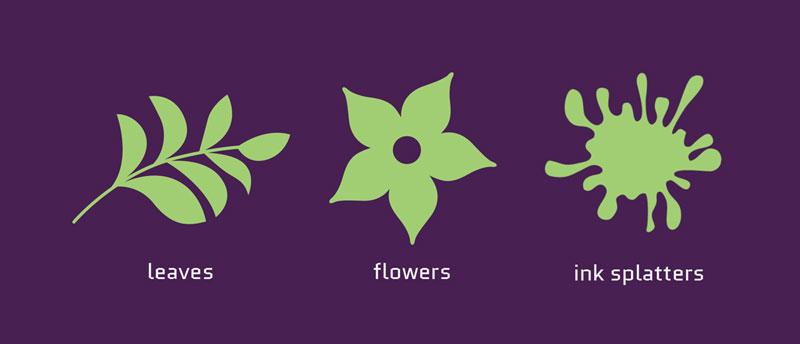 مفهوم طراحی لوگو با اشکال هندسی