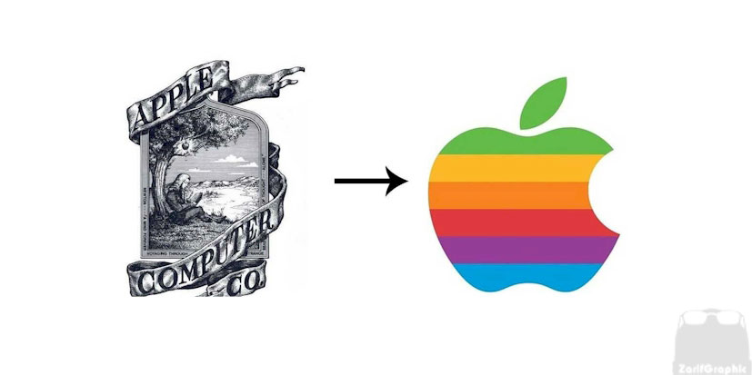 طراحی لوگو اپل