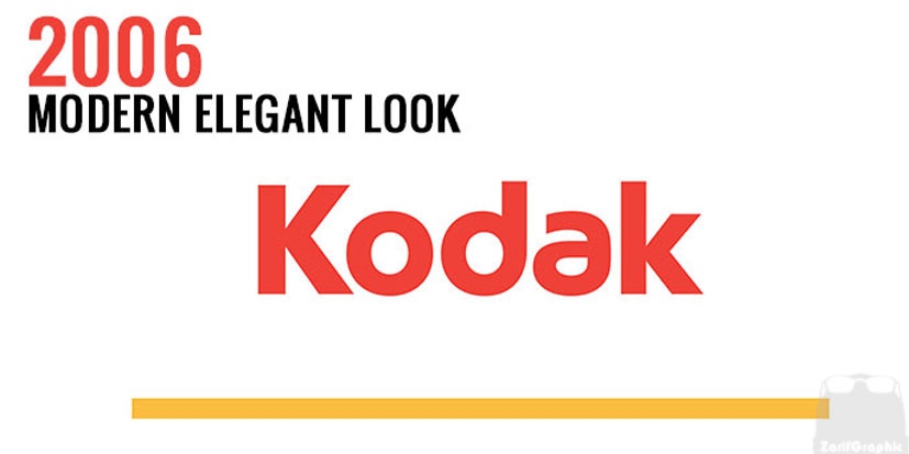 طراحی لوگو کوداک 2006