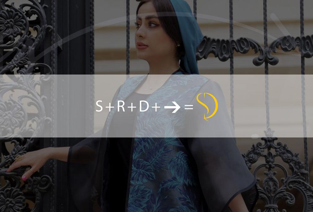 حروف استفاده شده در لوگو