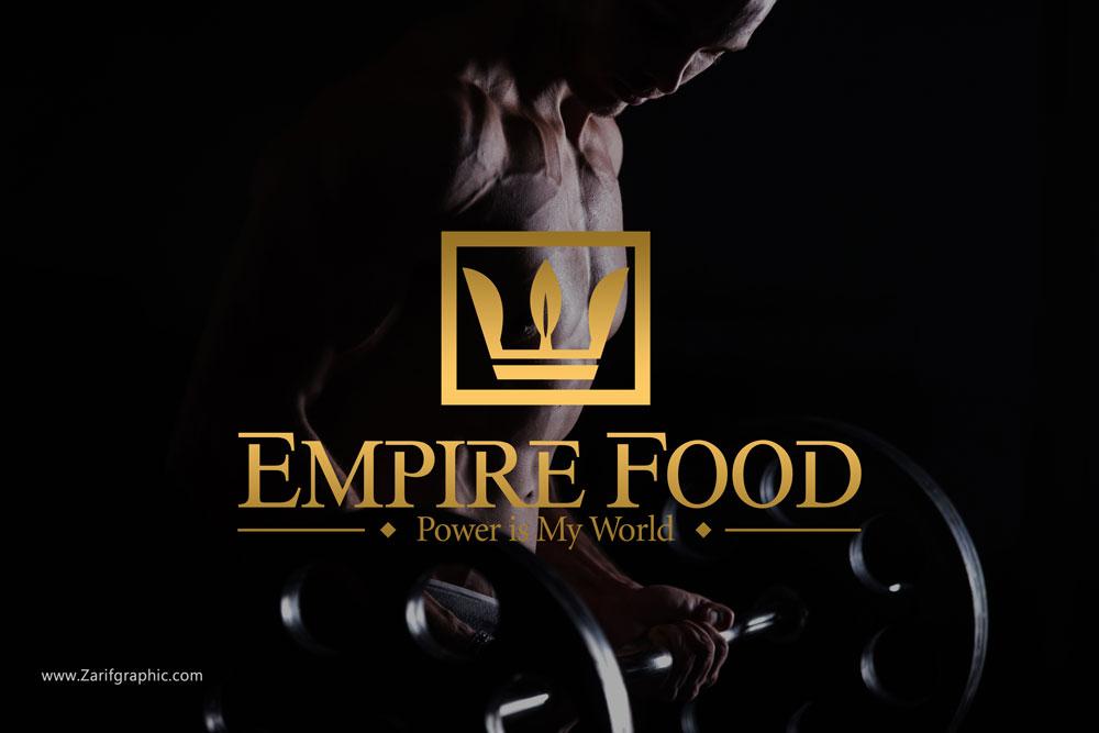 enrgy food logo design