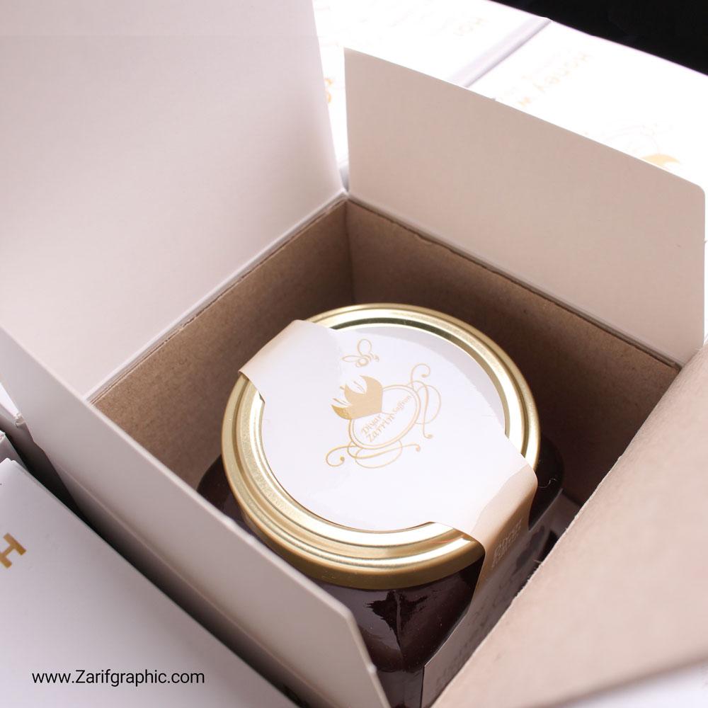 طراحی بسته بندی عسل دبی