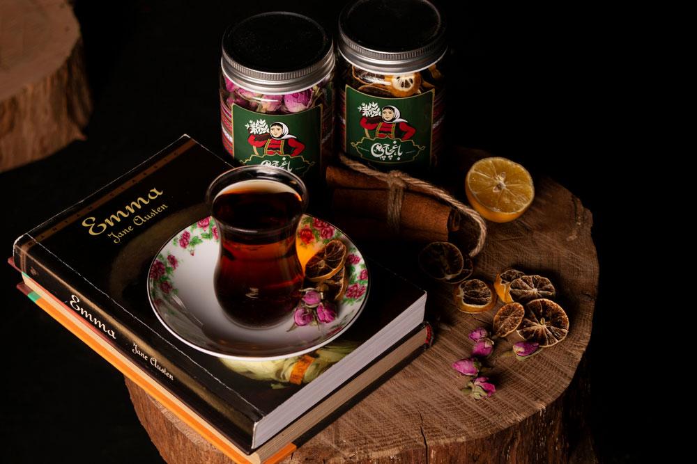 Spice label design in Mashhad