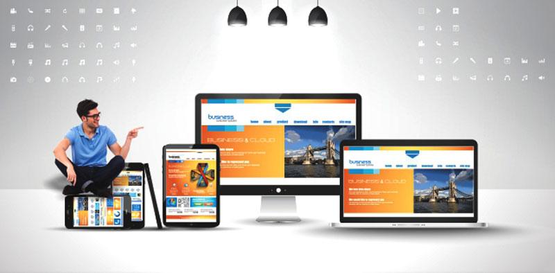 طراحی وبسایت تخصصی برای مشاغل مختلف در ظریف گرافیک
