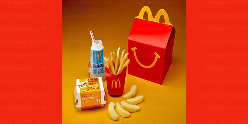 بهترین طراحی بسته بندی مک دوناک