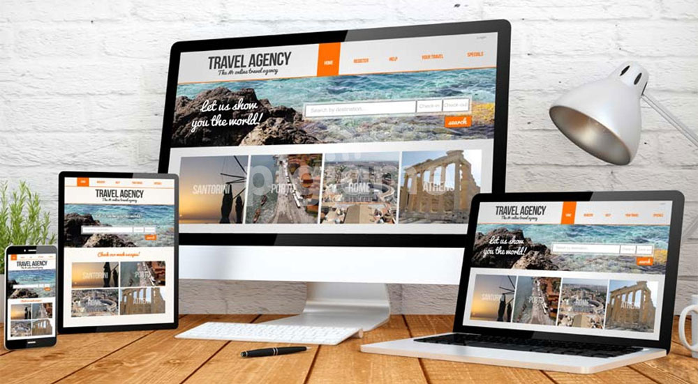 طراحی حرفه ای سایت بین المللی کسب و کار