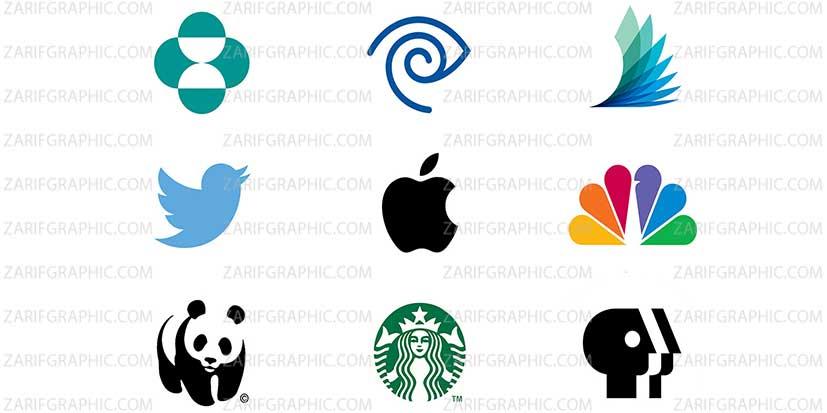 طراحی لوگو تصویری حرفه ای
