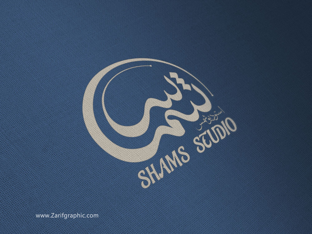 طراحی لوگوتایپ تخصصی استودیو عکاسی در مشهد
