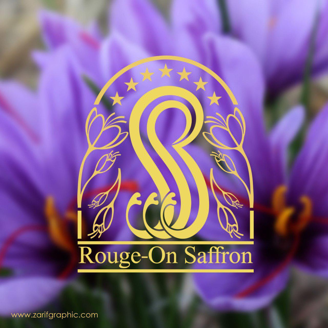 طراحی لوگوی زعفران روژان دبی