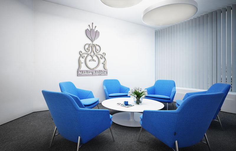 طراحی لوگو تخصصی زعفران مهام در ظریف گرافیک