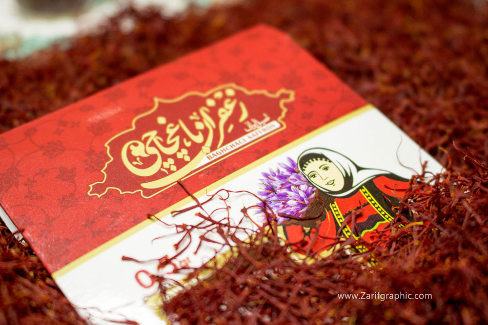 طراحی-بسته-بندی-زعفران-باغچاچی-در-ظریف-گرافیک