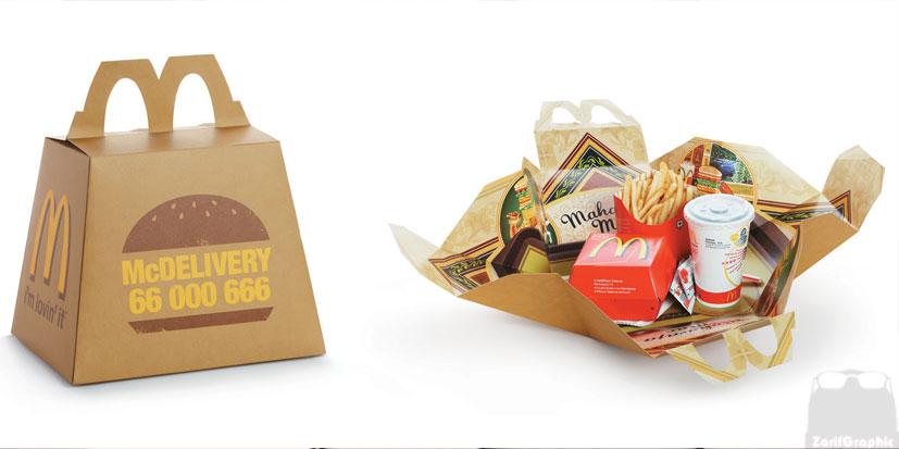 طراحی بسته بندی مواد غذایی ظریف گرافیک
