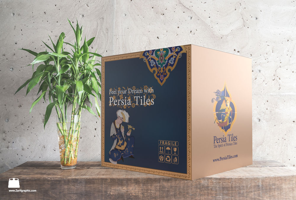 Package and logo design for Persian speakers abroad