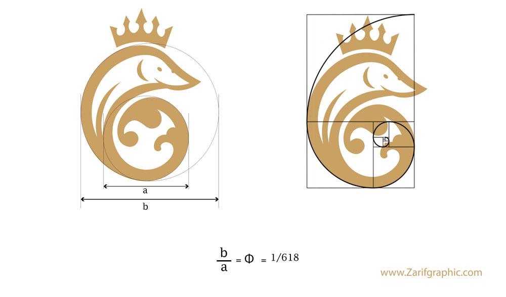 طراحی لوگو محصولات لوکس و لاکچری در ظریف گرافیک