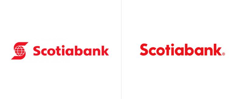 طراحی مجدد لوگو Scotiabank