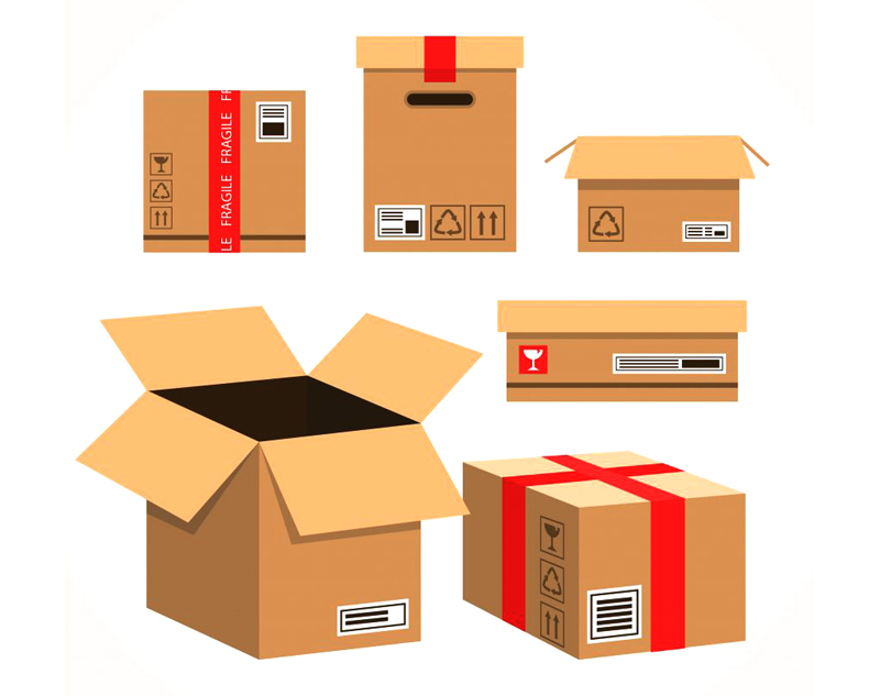 Attractive packaging design for export goods