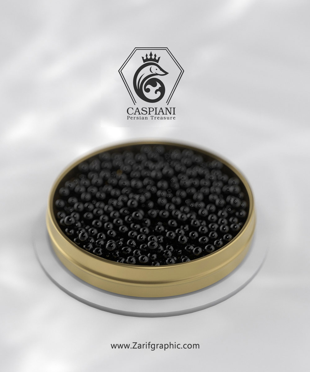 caviar design in zarifgraphic