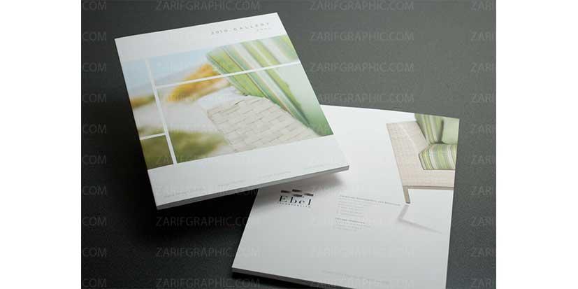 طراحی حرفه ای کاتالوگ و خلاقانه