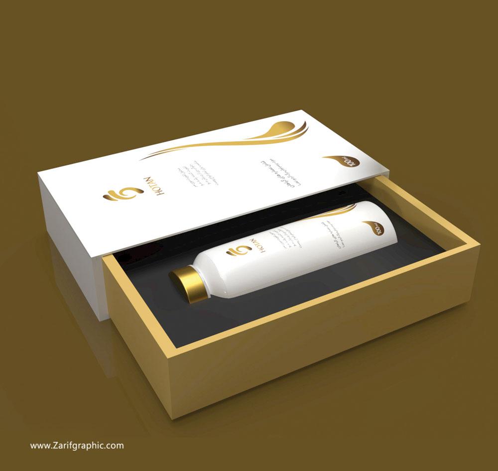طراحی بسته بندی محصولات آرایشی بهداشتی در ظریف گرافیک