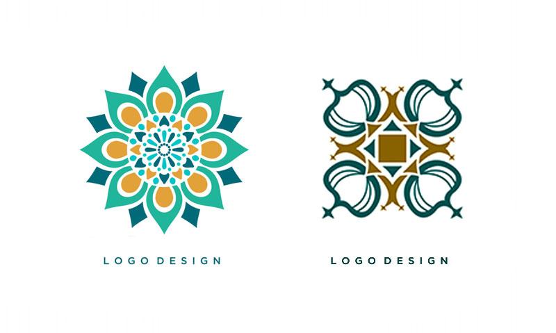 طراحی لوگو فرش اصیل ایرانی در ظریف گرافیک