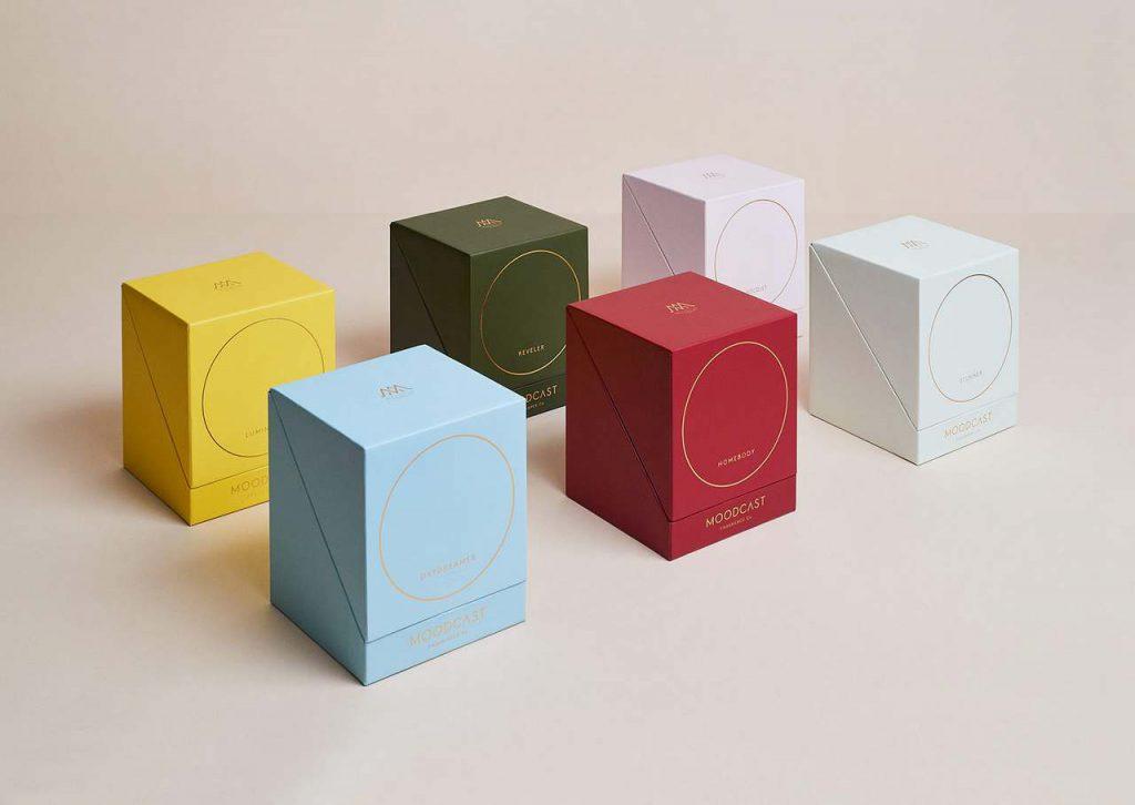 رنگ طراحی بسته بندی