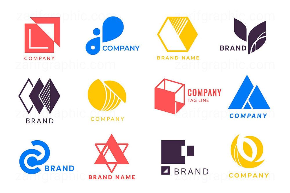 طراحی حرفه ای لوگو کسب و کار های مختلف در ظریف گرافیک