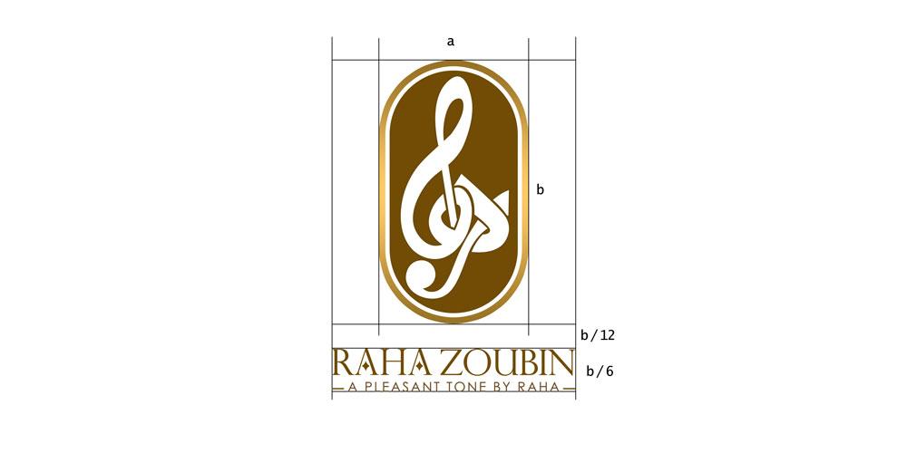 طراحی اختصاصی لوگو رها زوبین