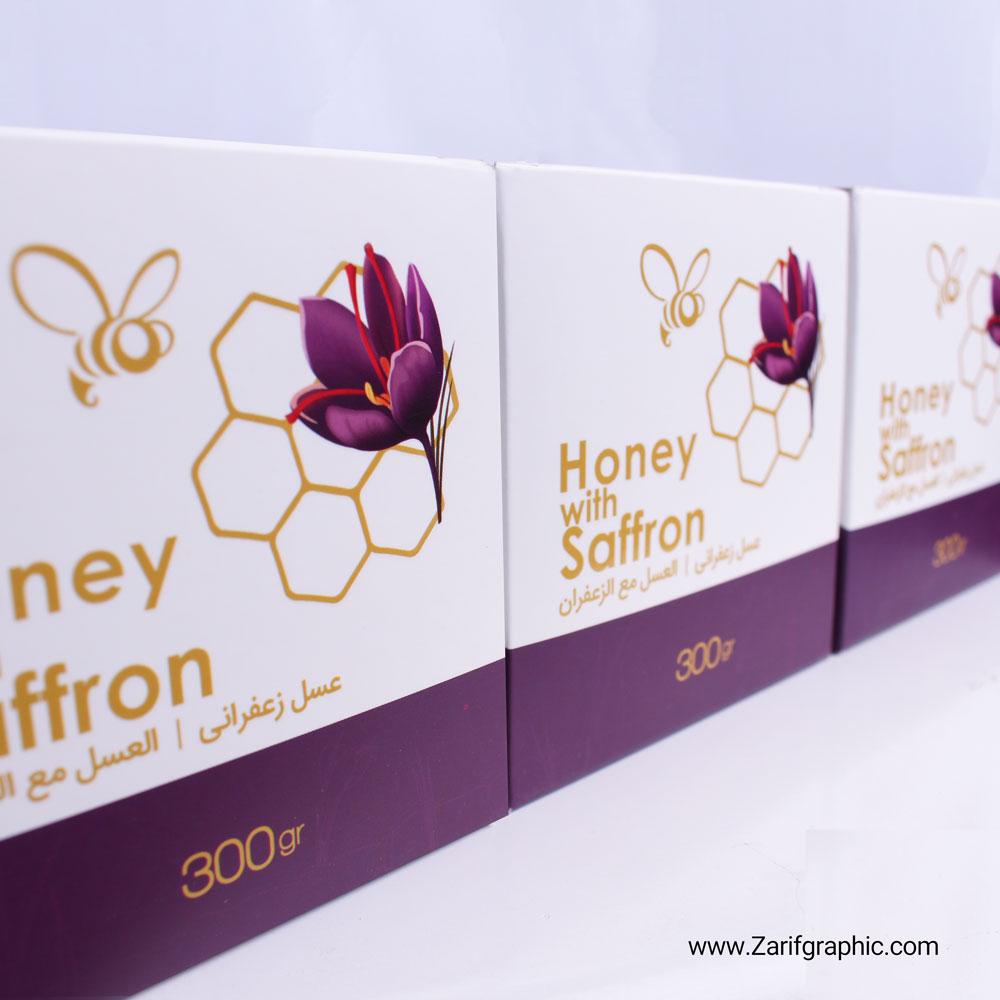 طراحی لوکس بسته بندی عسل