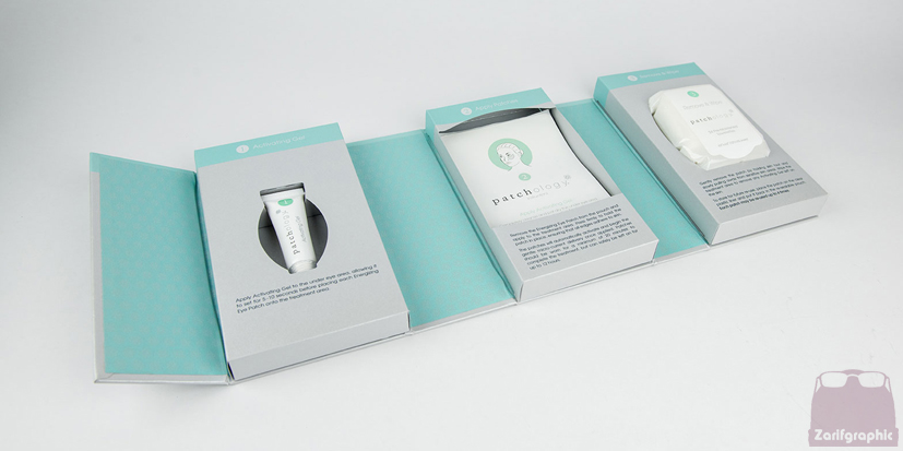 طراحی بسته بندی لوازم آرایشی مشهد
