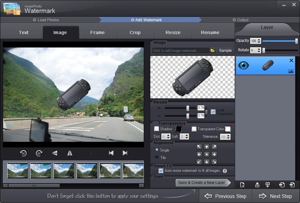 چگونه عکس و ویدئو ها را واتر مارک کنیم