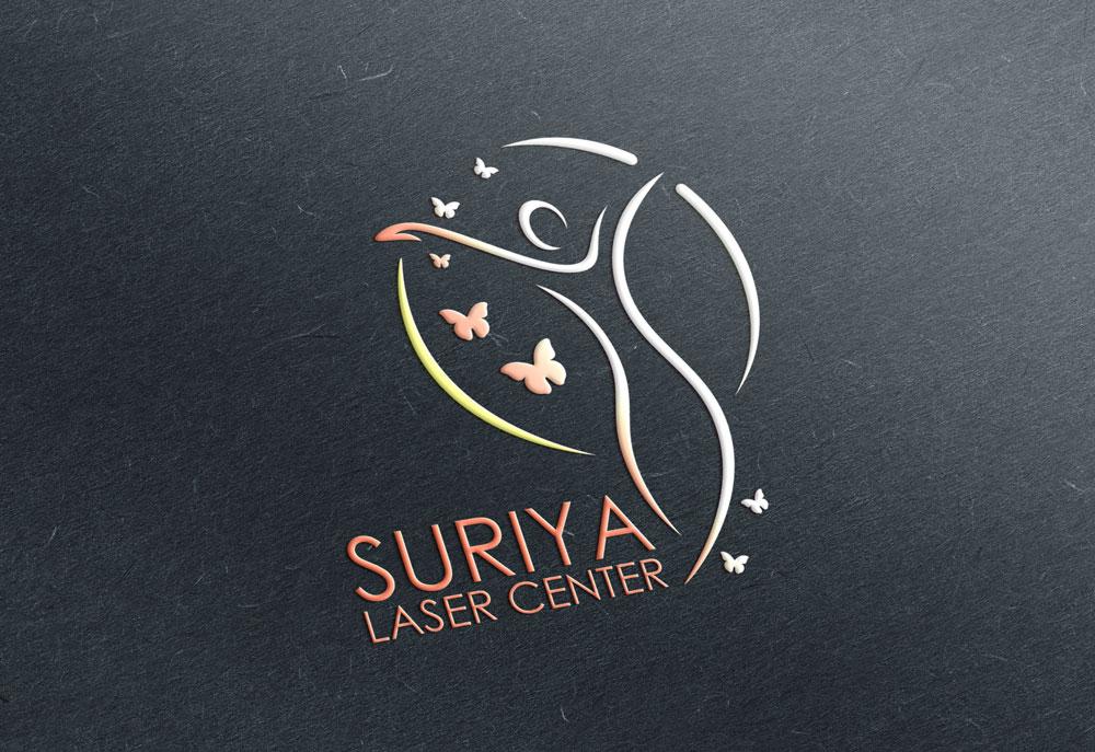 طراحی حرفه ای لوگو سالن زیبایی و لیزر در مشهد با ظریف گرافیک