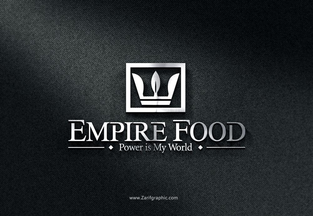 طراحی لوگو محصولات غذایی ارگانیک در ظریف گرافیک