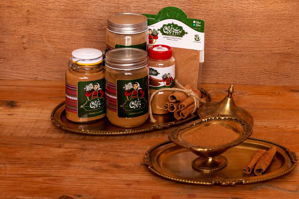 نمونه ادویه جات شرکت طراحی بسته بندی مواد غذایی
