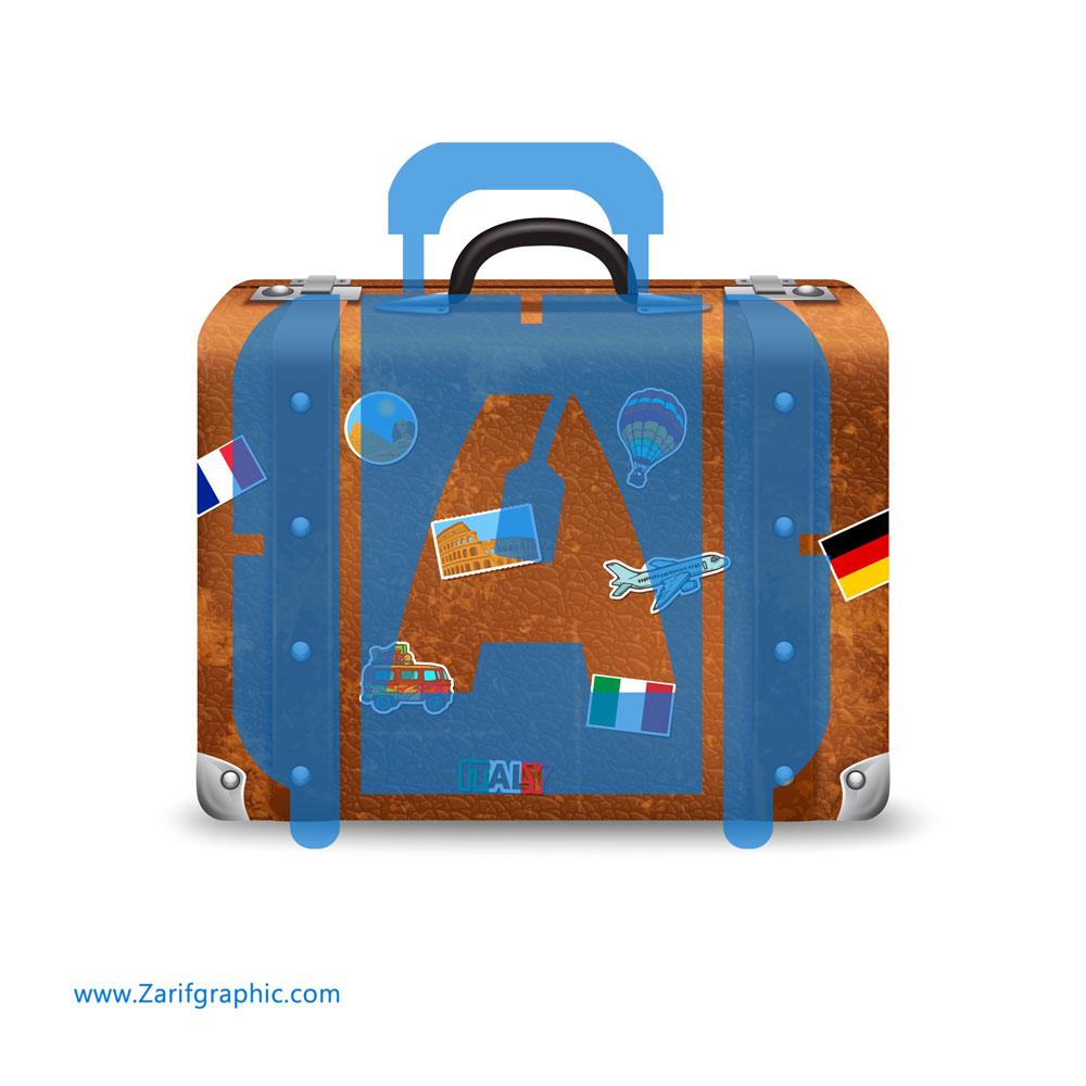 طراحی خلاقانه لوگو آژانس مسافرتی