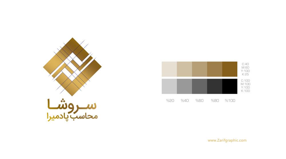 پرزنت و ارائه حرفه ای طراحی لوگو در ظریف گرافیک