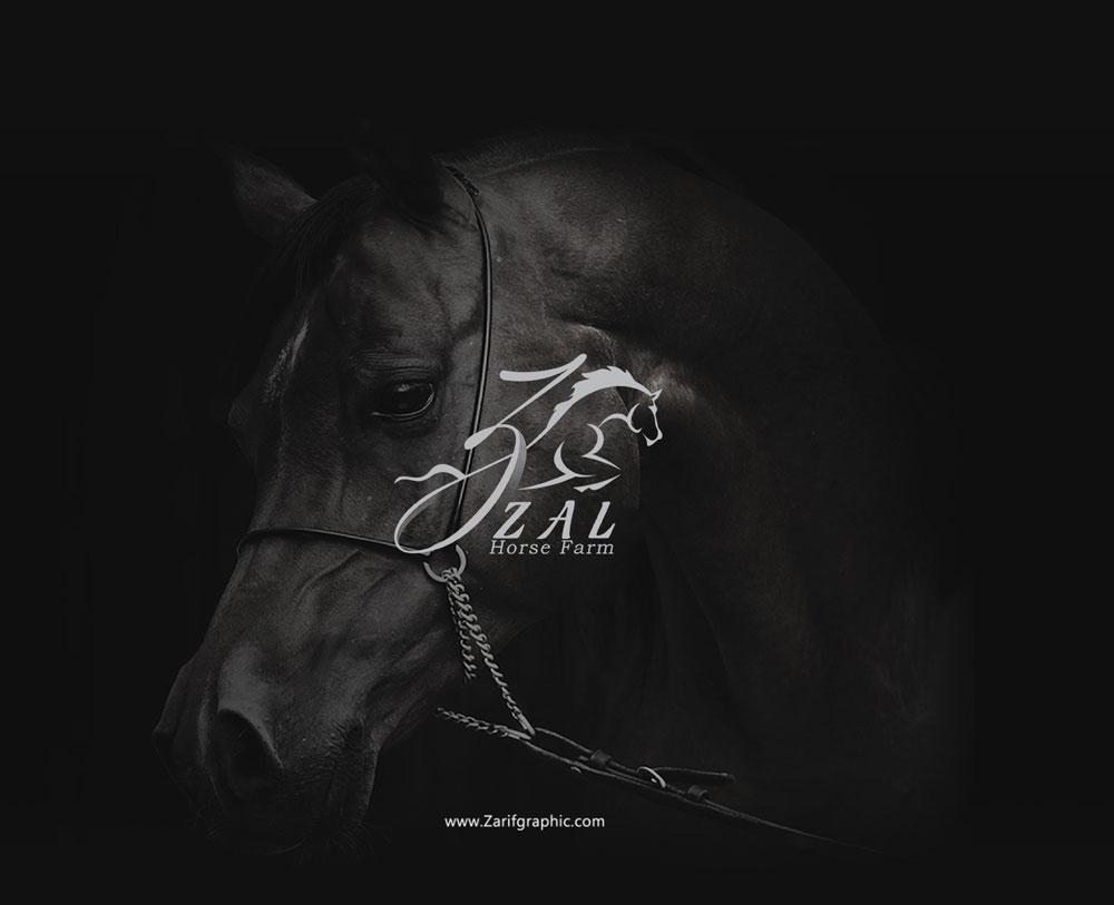 Logo design of equestrian club in Tehran
