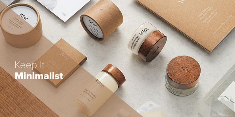 طراحی بسته بندی مینیمال