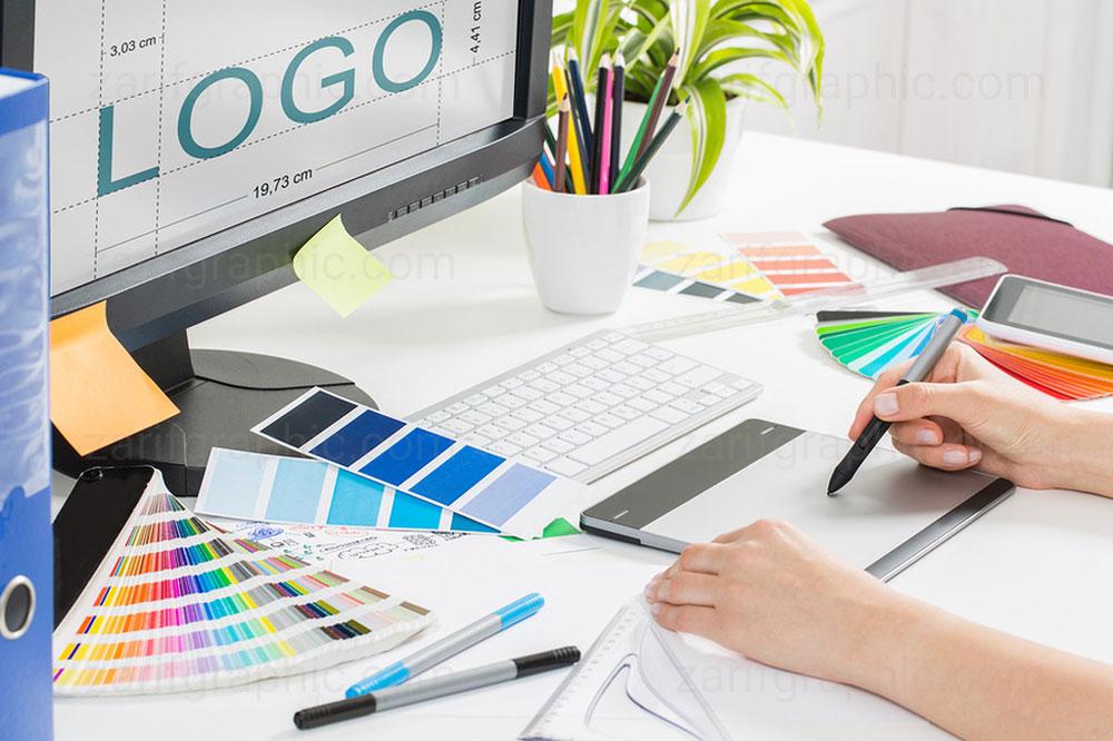 طراحی خلاقانه لوگو کسب و کارهای بین المللی در ظریف گرافیک مشهد