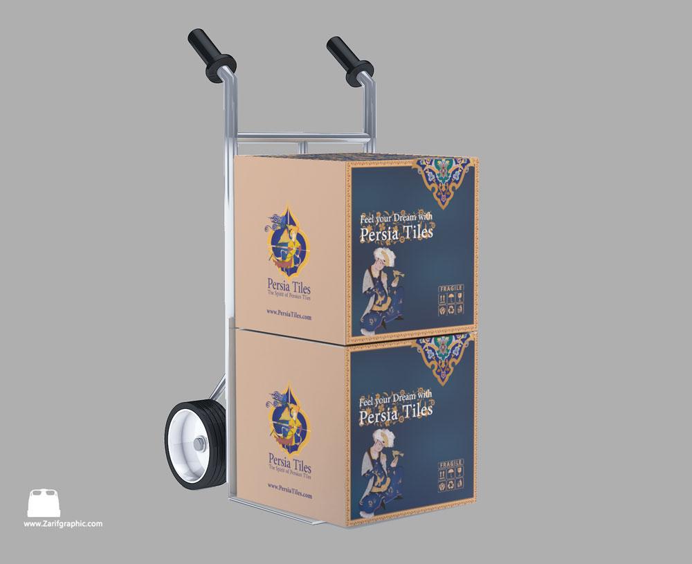 جعبه بسته بندی موزائیک